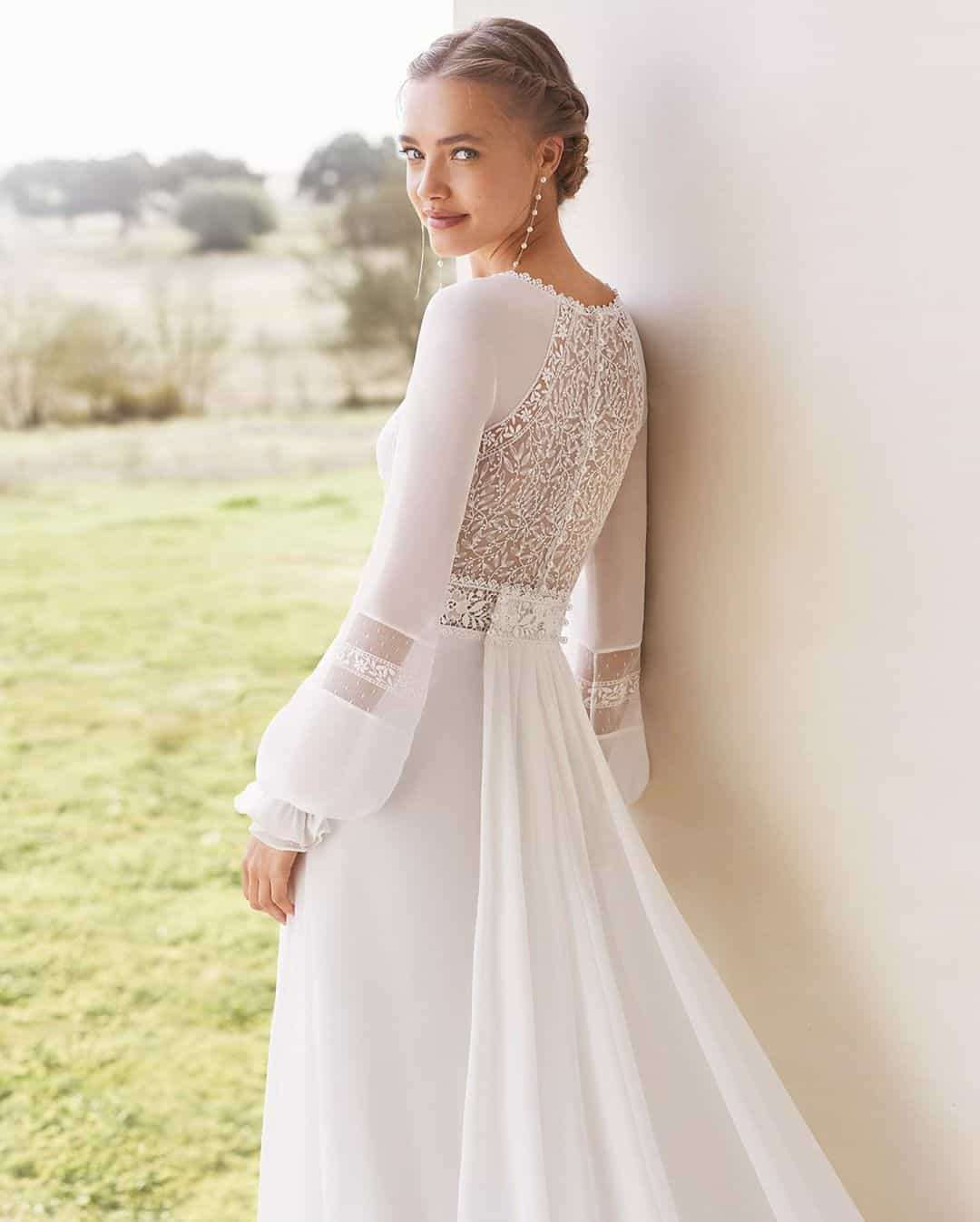 Specially Outstanding and Authentic Wedding Dresses by Rosa Clará