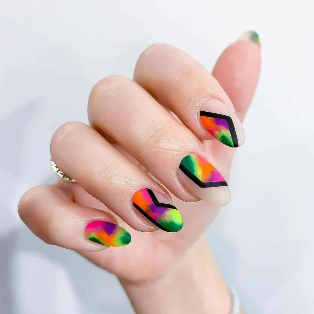 Picturesque Nail Art Designs by Nia Ho hun