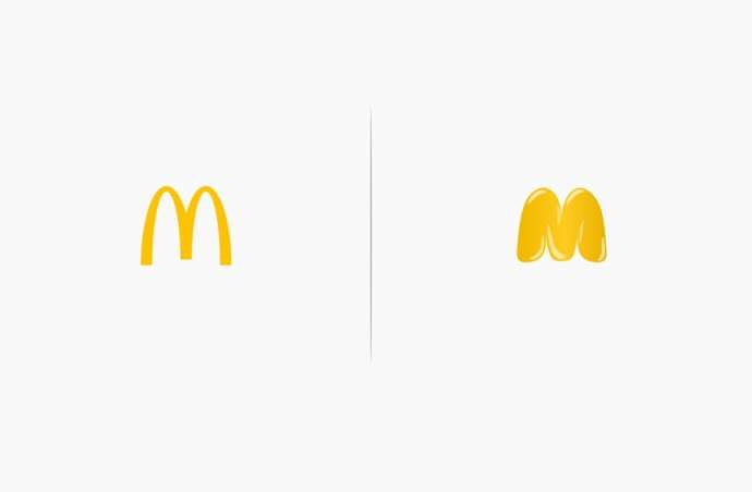 Artist Redesigns 10 Famous Logos Affected By Their Products